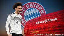 Laut Medienberichten wechselt Leroy Sane zum FC Bayern Muenchen.