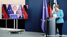 EU-Ratspräsidentschaft Deutschland | PK Ursula von der Leyen & Angela Merkel