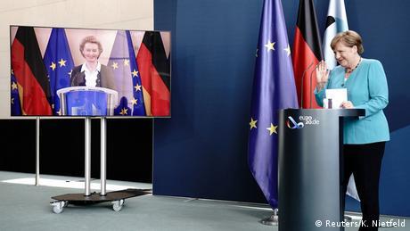 Η νέα ηγεσία της ΕΕ: Η πρόεδρος συναντά την καγκελάριο