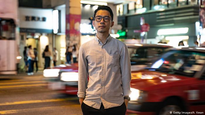 Hongkong Nathan Law, Aktivist