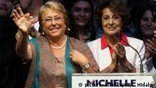 Chile, Santiago I Michelle Bachelet und Angela Jeria