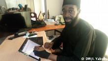 Cartoonist Mustapha Bulama