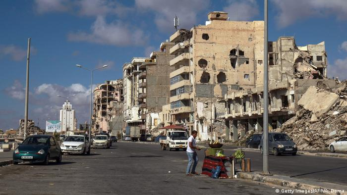 Libyen I Stadtansicht Benghazi (Getty Images/AFP/A. Doma)
