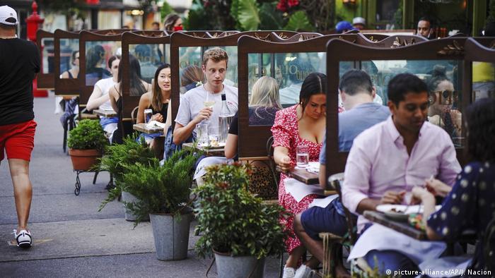 USA I Coronavirus I Restaurants in New York (picture-alliance/AP/J. Nacion)
