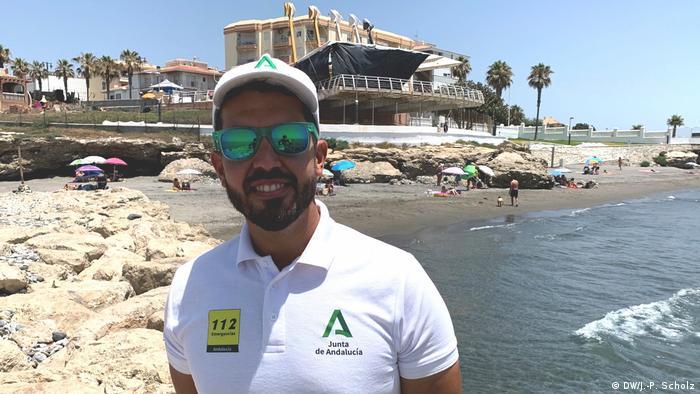 Pablo Garcia, șerif de plajă la Torrox