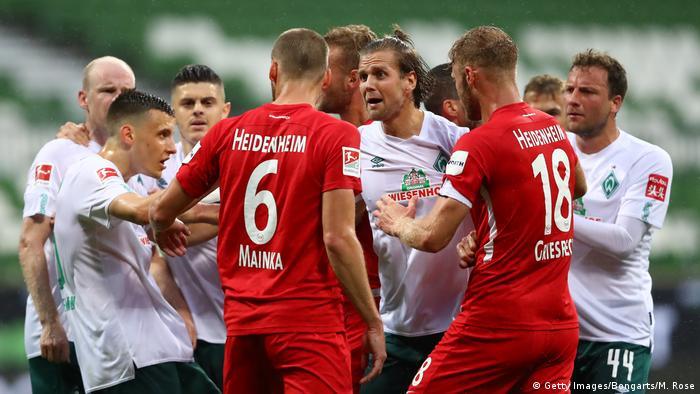 Fußball Bundesliga Relegation |Werder Bremen vs. 1. FC Heidenheim (Getty Images/Bongarts/M. Rose)
