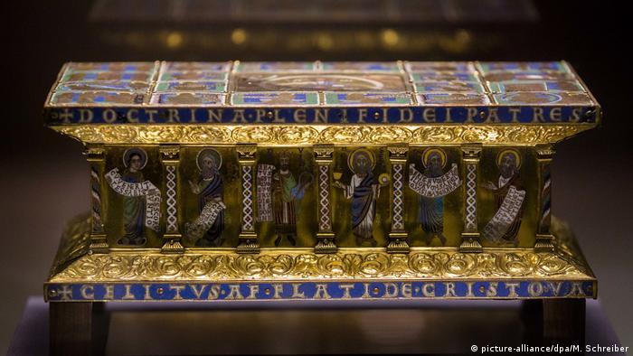 Объект из сокровища Вельфов в музее Боде в Берлине