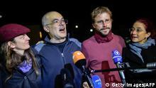 Türkei Aktivist Peter Steudtner und Ali Gharavi