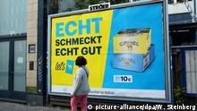 Deutschland Tabakwerbung