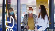 Deutschland Symbolbild Maskenpflicht BVG Berlin
