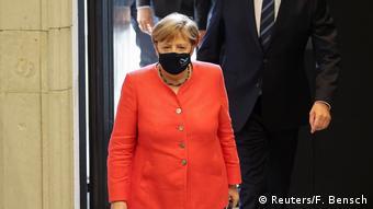 Канцлер ФРГ Ангела Меркель 3 июля в бундесрате