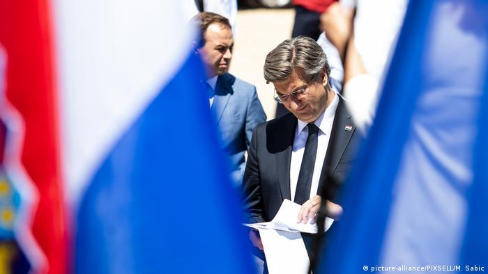 Croatian Prime Minister Andrej Plenkovic (picture-alliance/PIXSELL/M. Sabic)