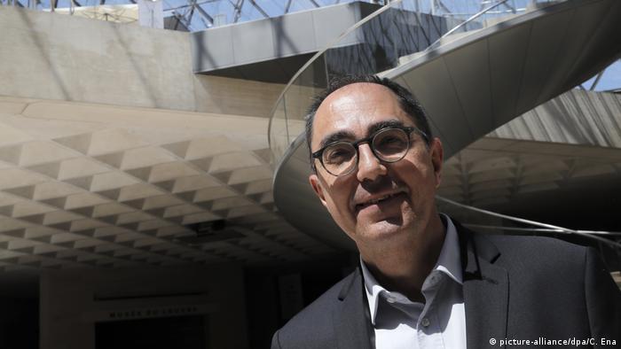Директор Лувру Жан-Люк Мартінес радий знову вітати відвідувачів у музеї