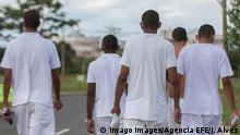 Brasilien Brasilia | Insassen des Gefängnis Papuda penitentiary complex