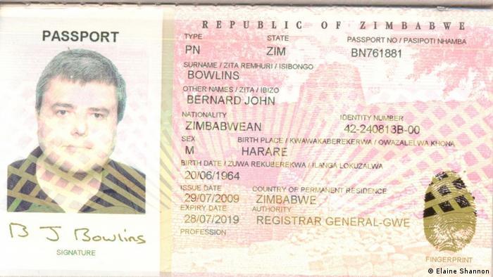Internetkrimineller und Drogenboss Paul le Roux | Gefälschter Pass