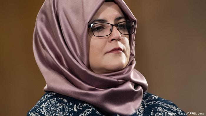 Hatice Cengiz, Jamal Khashoggi's fiancee (Getty Images/AFP/S. Loeb)