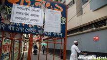 Bangladesch Wari, Dhaka | Coronavirus | Vorbereitung auf Lockdown