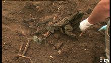 Filmstill DW-Beitrag Srebrenica | Massengrab ICMP