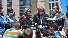 Türkei Istanbul | Prozessbeginn Mord an Jamal Khashoggi