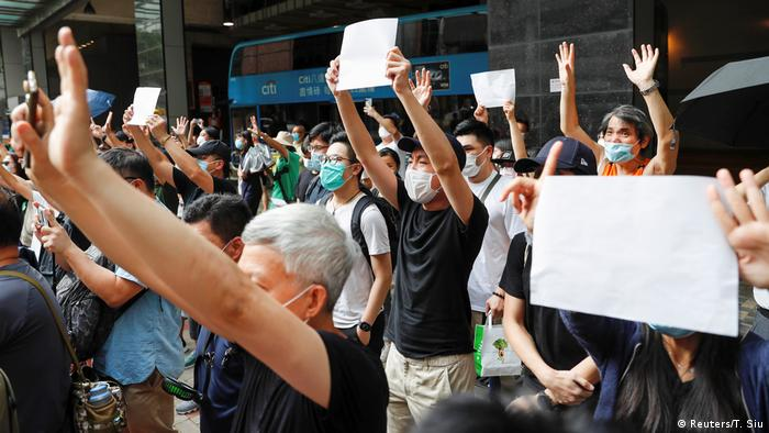 Hongkong Protest Nationale Sicherheit