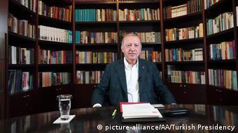 Από την τηλεδιάσκεψη του προέδρου Ερντογάν με τη νεολαία