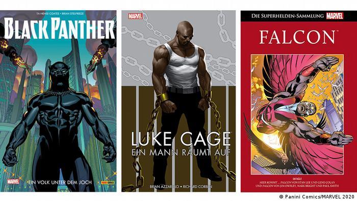 Bildergalerie Black-Heroes | 3er Kombo