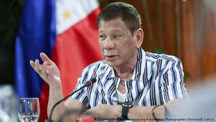 Philippinen Rodrigo Duterte