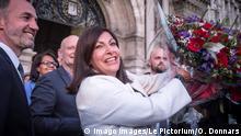 28.06.2020 The mayor of Paris, Anne Hidalgo, addresses Parisians after announcing her victory at the 2020 municipal elections in Paris over candidates Rachida Dati LR and Agnes Buzyn LREM. PUBLICATIONxINxGERxSUIxAUTxONLY OlivierxDonnarsx/xLexPictorium LePictorium0231781