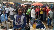 Mosambik Markt in Nampula während der Coronakrise