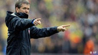 Hertha-Coach Friedhelm Funkel (Foto: AP)