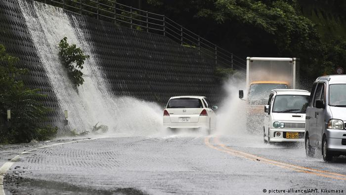 Heavy rains in Yatsushiro (picture-alliance/AP/T. Kikumasa)