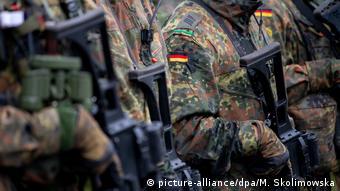 Немецкие солдаты НАТО
