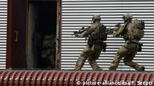 Deutschland Calw Bundeswehr Übung Kommando Spezialkräfte (KSK)