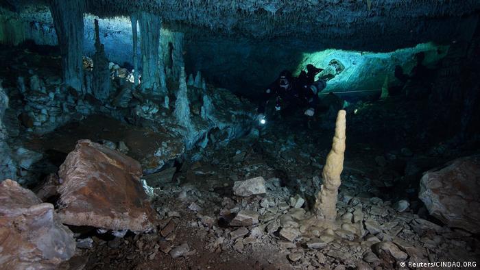 Yucatan ocher mine (Reuters/CINDAQ.ORG)