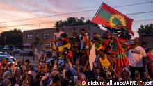 USA Protest gegen Ermordung eines äthiopischen Sängers