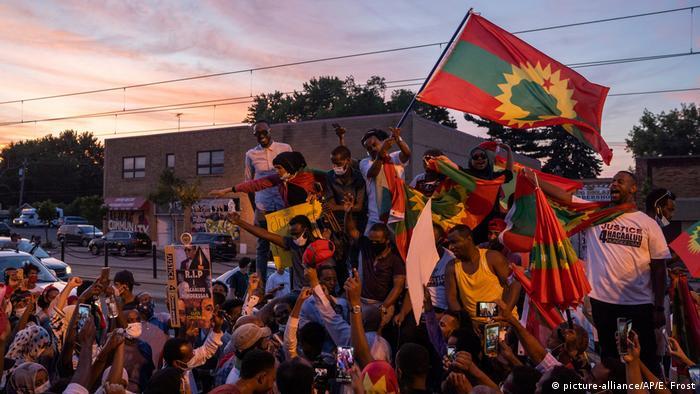 Акція протесту в Ефіопії