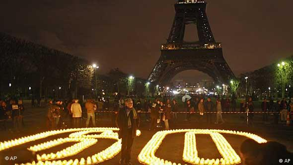 Earth Hour / Paris / Klimaschutz