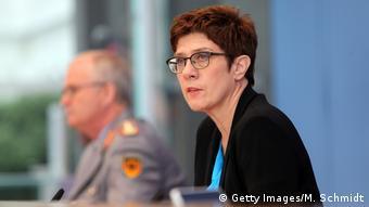 министр обороны ФРГ Аннегрет Крамп-Карренбауэр (Annegret Kramp-Karrenbauer)