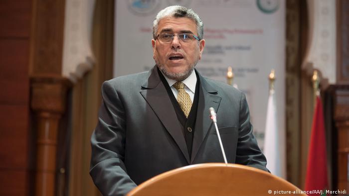 الوزير المكلف بحقوق الإنسان في المغرب مصطفى الرميد
