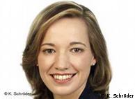 Kristina Schröder, ministra de Familia alemana.