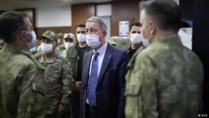 Savunma Bakanı Hulusi Akar 4 Temmuz'da Libya'da temaslarda bulunmuştu.