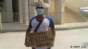 Anfola Luanda Antiregierungsproteste Notstand