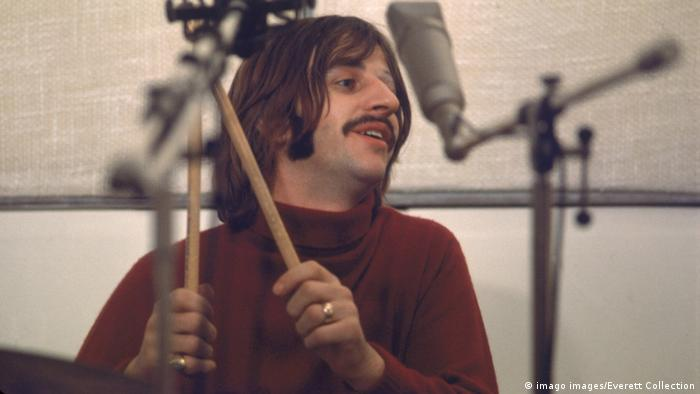 Ringo Starr in the early 1970s