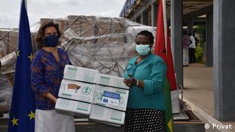Помощь ЕС странам Африки