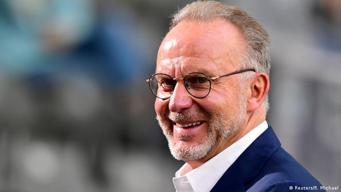 Karl-Heinz Rummenigge, CEO do Bayern de Munique