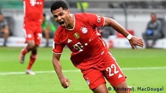 Serge Gnabry sous les couleurs du Bayern Munich