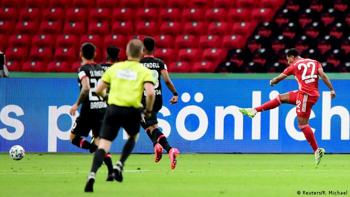 DFB Pokal Finale - Bayer Leverkusen vs. Bayern Munich | Tor 0 : 2 (Reuters/R. Michael)