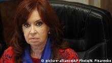Argentinien Vizepräsidentin Cristina Fernandez