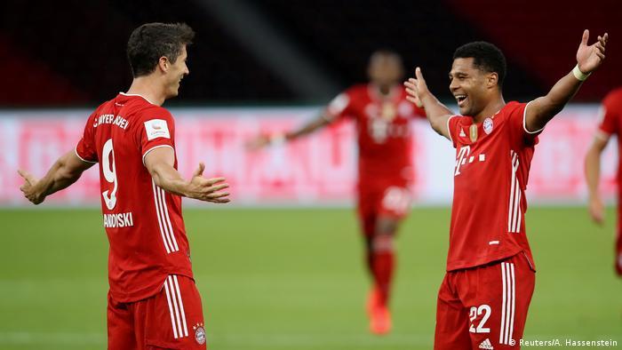 DFB Pokal Finale - Bayer Leverkusen vs. Bayern Munich | Tor 0 : 3 (Reuters/A. Hassenstein)