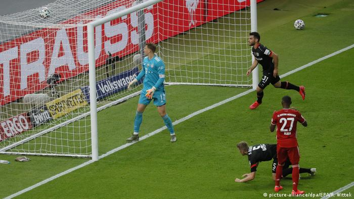 Sven Bender grabs a goal to get Leverkusen back in the game, but it was too little, too late